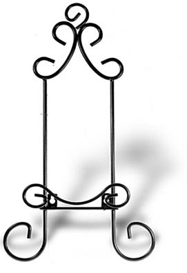 Wall Display Hanger For Collectible Plates and Plaques- Black Finish (Pkg/5)