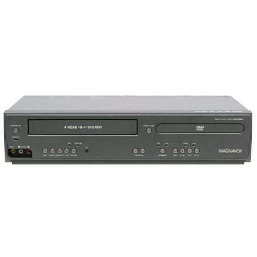 D Player and 4 Head Hi-Fi Stereo VCR with Line-in Recording ()