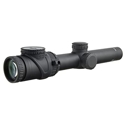 Trijicon TR25-C-200080 AccuPoint 1-6x24mm Riflescope, 30mm Main Tube, Standard Duplex Crosshair Reticle with Green Dot, Matte black