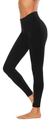 X-Fit Sports Women High Waisted Yoga Pants - Running Workout Legging with Hidden Pocket,Non See-Through