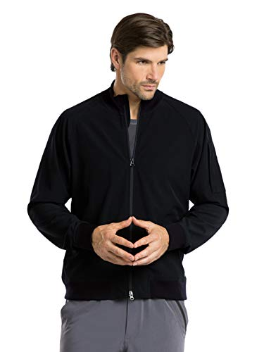 Barco One 0405 Men's Bomber Zip Jacket Black ()