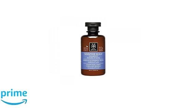 Apivita - Champú cuero cabelludo sensible lavanda & miel: Amazon.es: Belleza