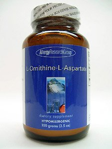 Allergy Research Group-L-ornithine-L-aspartate 100 g [Santé et Beauté]