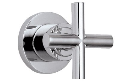 California Faucets Wall Or Deck Handle Trim Only Polished Chrome - California Faucets Tiburon Trim