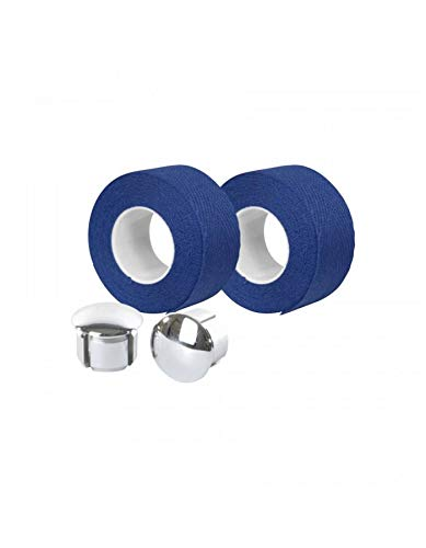 Motodak Cinta de Manillar Velox Trenzado 90 algod/ón Azul Rey 20 mm x 2,80 m se Vende en Blister de 2