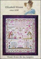 Elizabeth Weston Circa 1830 Cross Stitch Pattern