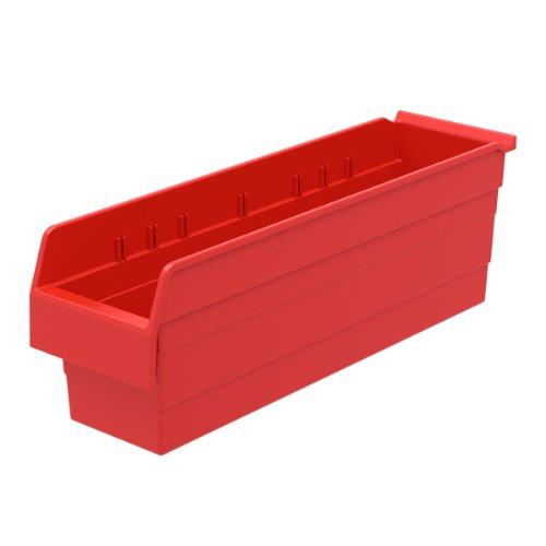 AKRO-MILS 30864 ShelfMax 8 Plastic Nesting Shelf Bin Box,...
