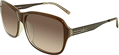 Calvin Klein Gradient 1180SA-163 Brown Square Sunglasses