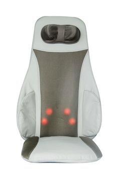 Deluxe - Cojín de masaje Shiatsu por infrarrojos 3d 1, para ...