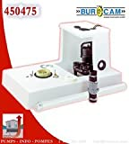 perfect seal wax ring - BurCam 450475 Easy Flush Toilet System, 1/2 hp, 115V