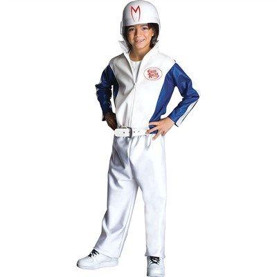 [Speed Racer Deluxe Child Large Costume] (Infant Racing Halloween Costume)