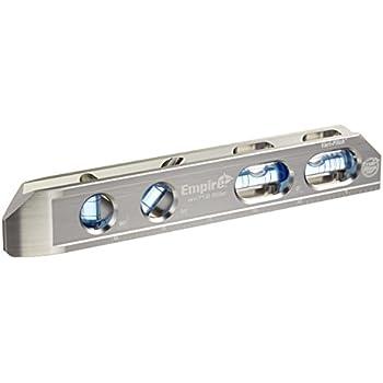 "Empire EM71.8 Professional True Blue Magnetic Box Level, 8"""