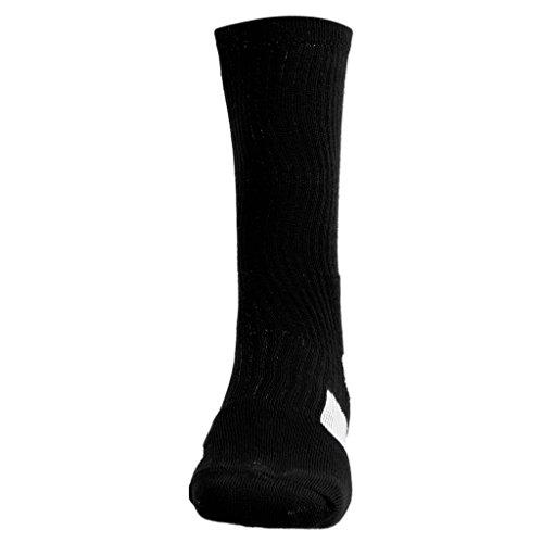 blanco Rápido Negro De Deporte Calcetines Hombres Baloncesto Baoblaze Secado 8qz7Sww