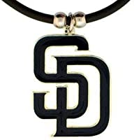 MLB San Diego Padres Rubber Cord Necklace