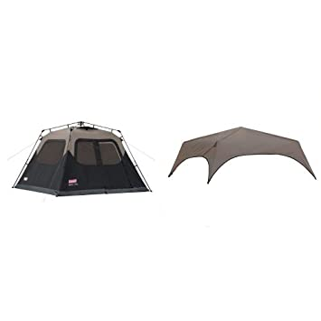 Coleman 6-Person Instant Cabin Tent and Coleman 6-Person Instant Tent Rainfly Accessory  sc 1 st  Amazon.com & Amazon.com : Coleman 6-Person Instant Cabin Tent and Coleman 6 ...
