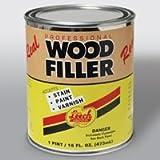 Leech Lwf-69 Pro Wood Filler, Pint
