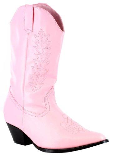 damen rose Schuhe rose Unisex Mädchen Stiefel INC Cowboy Kinder Ellie w0RnTCFqT