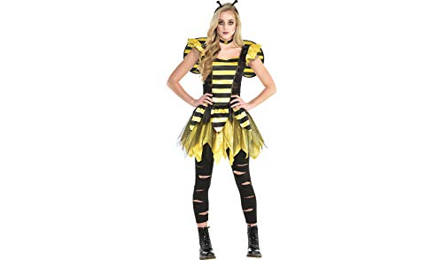 Zom-Bee Halloween Costume for Women, Small, with Included Accessories, by -