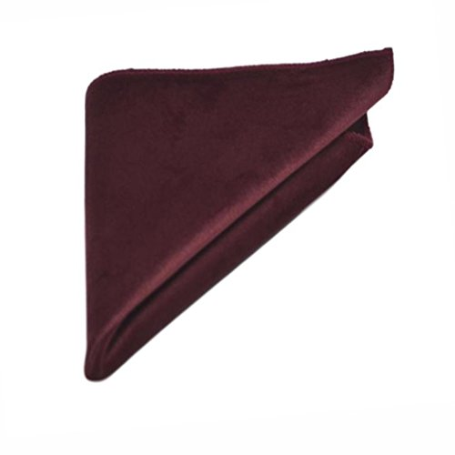 Bow Velvet Burgundy Square Pocket Set Tie amp; 4zxgHwq