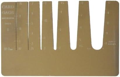 アイガーツール カードゲージ (TYK-15)