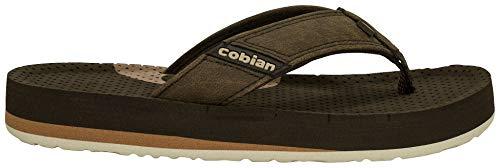 Cobian Boys ARV2 Jr. Flip Flops 5 Mocha Brown