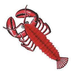 Beistle 55634 Tissue Lobster, 17-Inch
