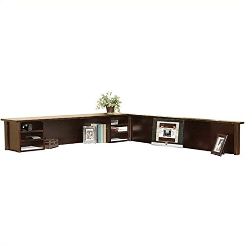 (Beaumont Lane Cherry L-Shaped Reception Hutch)