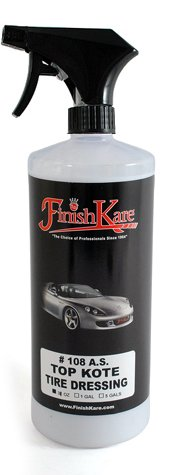 31oz. Finish Kare Top Kote Anti-Static Protectant & Tire Dressing