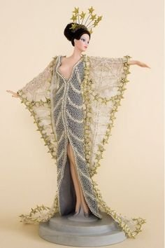 Erte Stardust Porcelain Doll - Limited Edition