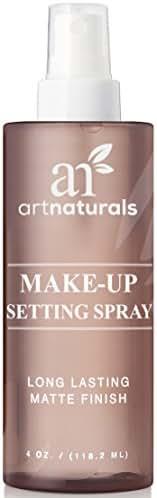 ArtNaturals Natural Makeup Setting Spray - (4 FL Oz / 120ml) - Long Lasting and All Day Extender – Made with Aloe Vera