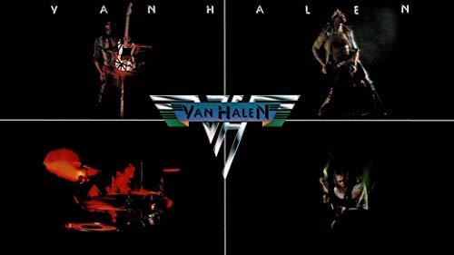bribase shop Van Halen Classic Rock Star Band poster 24 inch x 13 inch