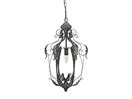 Antike Kronleuchter Vintage ~ Chic antique lampe m kor kronleuchter blatt antik shabby vintage