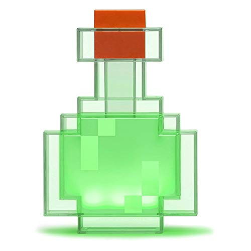 ThinkGeek Minecraft Color Changing Potion Bottle - Lights Up and Switches Between 8 Different Colors - Officially Licensed Minecraft Toys by ThinkGeek (Image #1)
