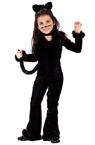 Fun World Costumes Baby Girl's Toddler Playful Kitty Costume, Black, Large ()