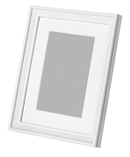 KNOPPANG Frame 4x6 in or 6x8 in White wood Photo Holders,6x8 Frame