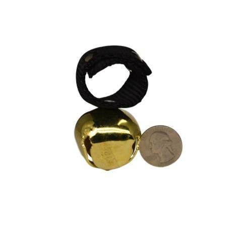 Warner Brass Plated Steel Dog Collar Bell (Bear Bell)