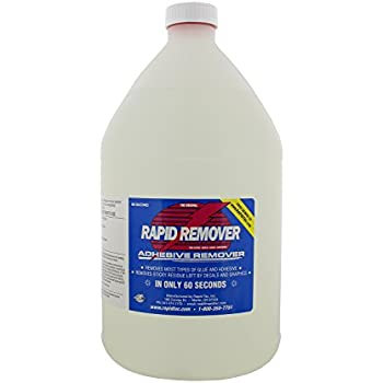 RAPID REMOVER Adhesive Remover for Vinyl Wraps Graphics Decals Stripes 1 Gallon Bottle