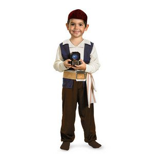Jack Sparrow Toddler Costume - Medium (3T-4T)