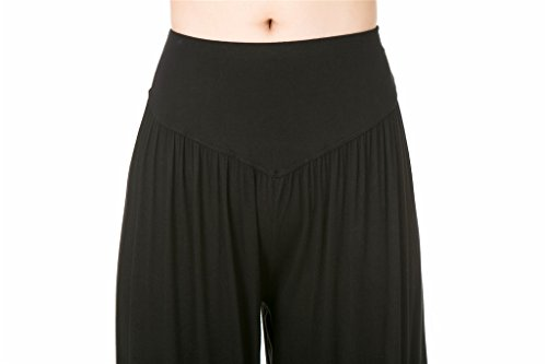 Leggings Modal morbido Yoga Loose Lunghi Fit Black donna da o Pilates Spandex e per SIMYJOY Pantaloni w1TYq