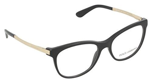 Dolce&Gabbana DG3234 Eyeglass Frames 501-54 - Black DG3234-501-54