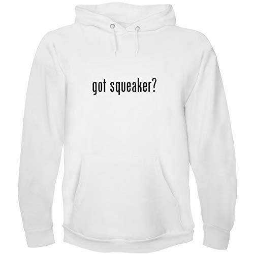 The Town Butler got Squeaker? - Men's Hoodie Sweatshirt, White, XX-Large