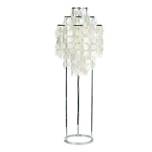 VerPan FUN 1STM - Lámpara de pie, blanco perla, estándar ...
