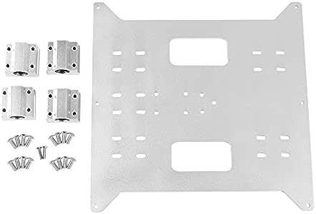ACAMPTAR Reemplazo Mejorado Aluminio Eje y Carro Placa de Aluminio ...