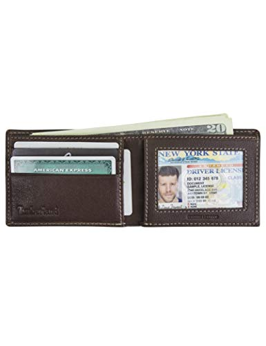 Timberland Men's Blix Slimfold Leather Wallet 6