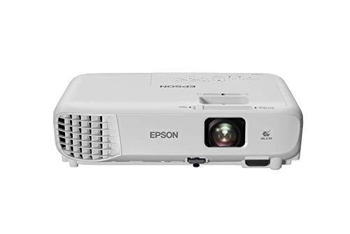 Epson EB-W06 3LCD-projector (WXGA 1.280x800p, 3.700 lumen wit en kleur helderheid, contrastverhouding 16.000:1…