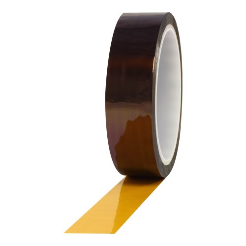 ProTapes Pro 950AS Anti-Static Polyimide Film Tape, 7500V Dielectric Strength, 36 yds Length x 1/4