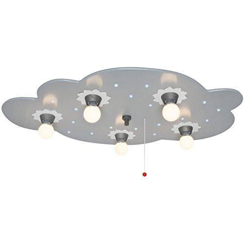 Deckenleuchte, 5 x E14/40W,und 20 LEDs/0,07W