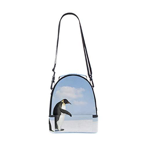 pour Sac lunch à réglable Pingouin Adélie pique Out double Cooler Atteint nique au épaule Sangle H5qwU7gx