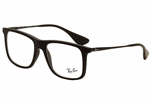 New Ray Ban RB-7054-5364-53-17-140 MATTE BLACK Eyeglasses Authentic - 17 Ban Ray 53