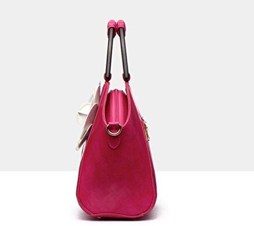 Purple Da Donna purple Pelle In Borsa Moda Messicano Gshga Stile zqa6vPn